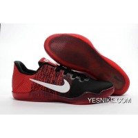 Official NikeKobe 11 Black Red White Copuon Code XpMR6