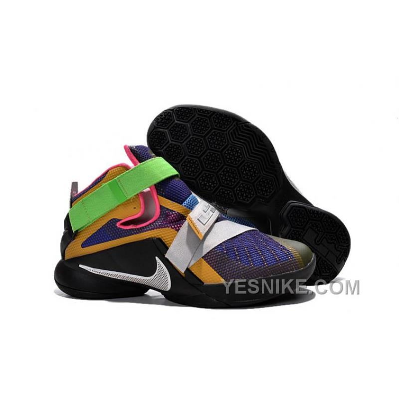 Big Discount  66 OFF Nike LeBron Soldier 9 What The LeBron Multi ColorBlackWhite Basketball Shoe 309740