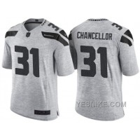 Big Discount ! 66% OFF ! Nike Seattle Seahawks #31 Kam Chancellor 2016 Gridiron Gray II Men's NFL Limited Jersey