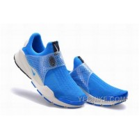 Big Discount ! 66% OFF! Nike Sock Dart SE Black White LocoKickz