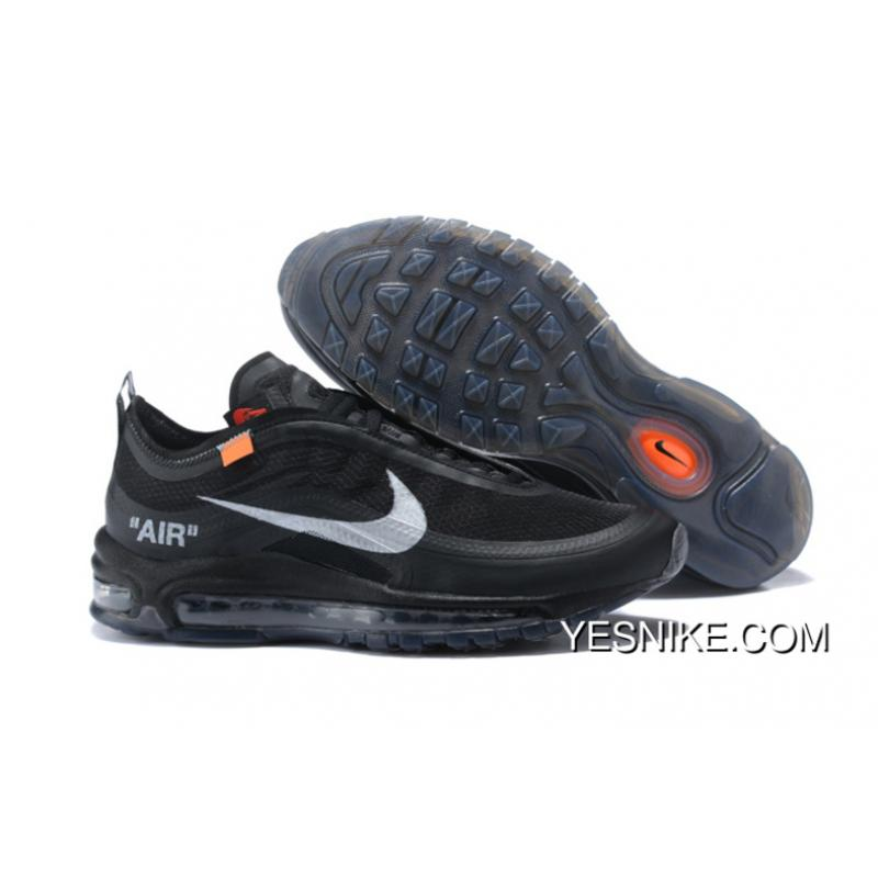 aab3ac974d Nike Nik X OFF-WHITE Air Max 97 OFF-WHITE Joint Running Shoes AJ4585 ...
