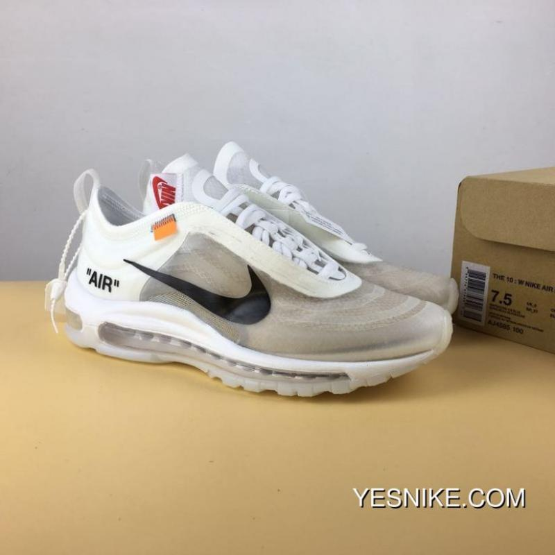 1f27d1acf6a3 Nike 97 Joint OFF-WHITE X Air Max 97 AJ4585-100 For Sale ...
