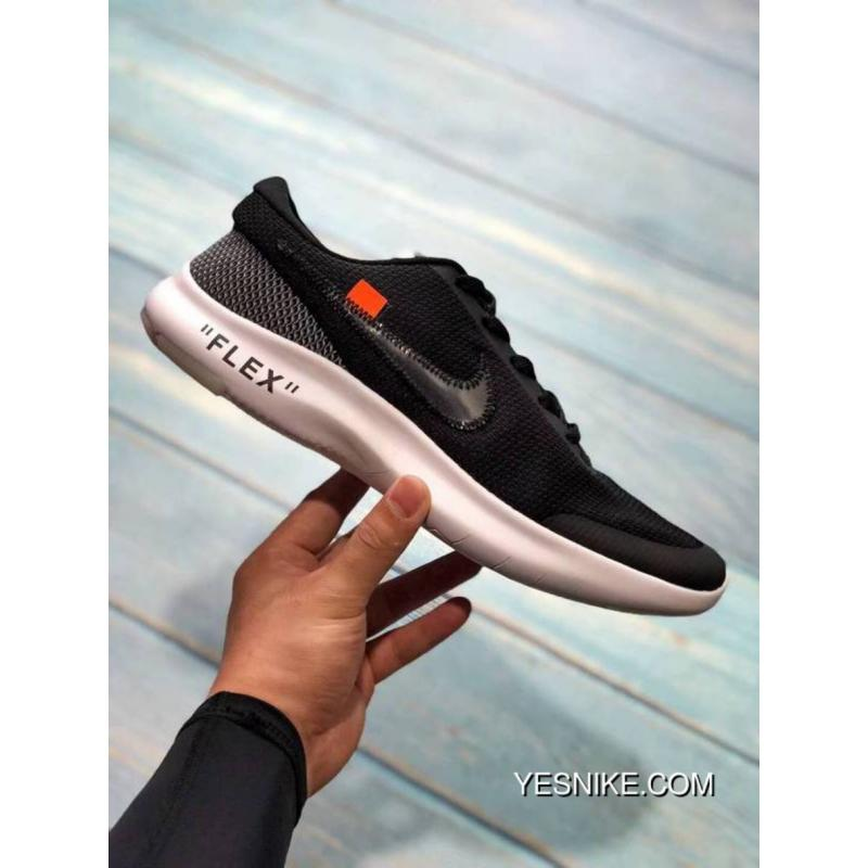 c3efd74f2fd OFF-WHITE Nike FLEX EXPERIENCE RN 7 Barefoot Breathable Light Running Shoes  AJ9089-001 ...