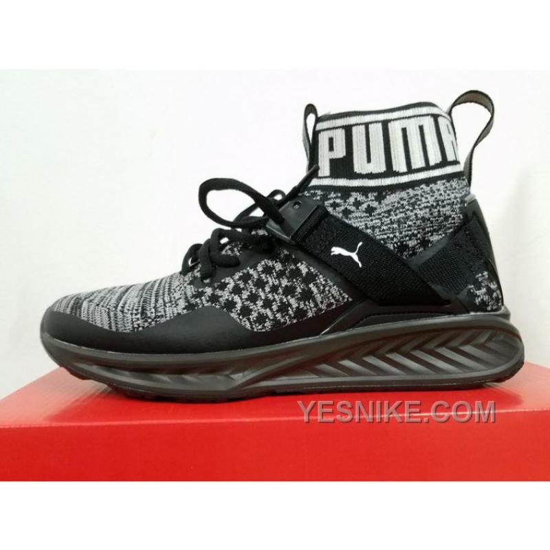 Cheap To Buy Puma Ignite EvoKnit All Black 18969709