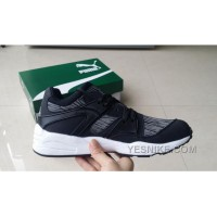 Free Shipping Puma Trinomic Blaze 362036-03 BLACK GREY WOMEN/MEN