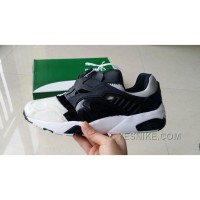 "Super Deals Puma X Deal Disc Blaze ""Panda"" 361382-01 White Black Women Men"