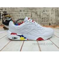 For Sale PUMA R698 Blur WN'S Canvas White Women Men
