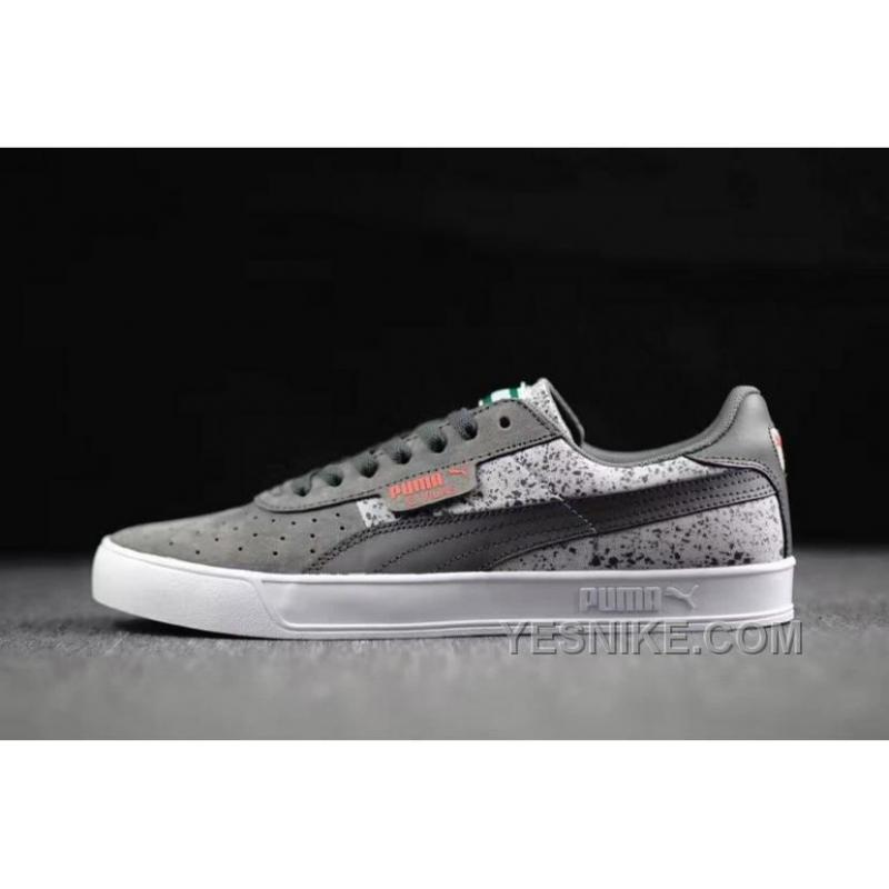 low priced cfb60 43356 Super Deals Puma Suede Winterized Grey