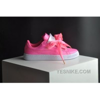 PUMA Suede Basket Heart Patent Women 36-40 Pink Girls Shoes Free Shipping