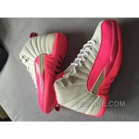 Big Discount! 66% OFF! Women Air Jordan XII GS Dynamic Pink Sneaker 213