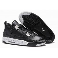 "Big Discount! 66% OFF! Girls Air Jordan 4 Retro ""Oreo"" For Sale Online 2015"