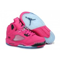 Big Discount! 66% OFF! Women NK Air JD 5 Retro Pink ZBreD