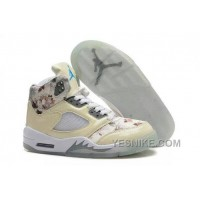 Big Discount! 66% OFF! Women Air Jordan 5 Retro AAA 222