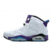 Big Discount! 66% OFF! Women Air JD 6 Retro GS White Grape Online For Sale H7etW