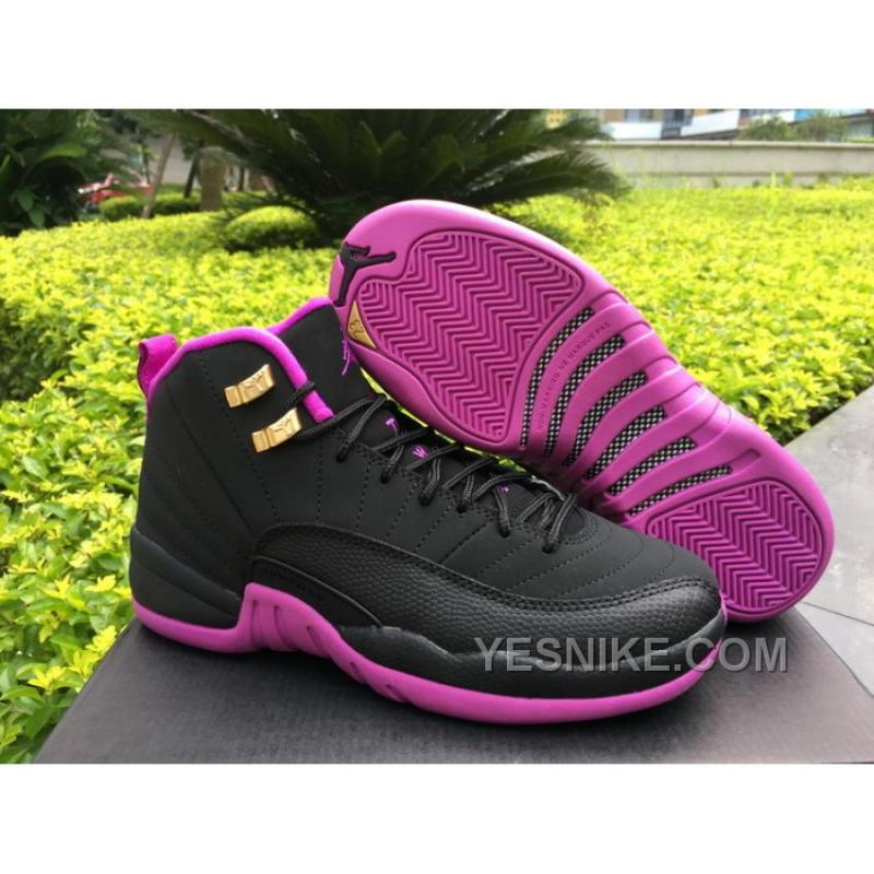 new style bb391 67a54 Women Air Jordan 12 GS Hyper Violet ...