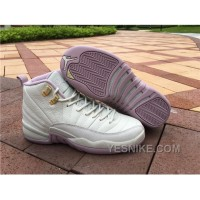 Big Discount! 66% OFF! Women Air Jordan 12 Plum Fog GS