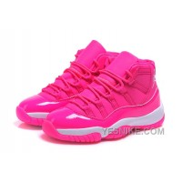 Big Discount! 66% OFF! Womens Air Jordan 11 Girls All Pink On Sale For Ladies