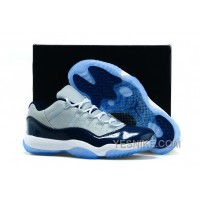 Big Discount! 66% OFF! Girls Cheap Air Jordan 11 GS Low Georgetown Womens Size For Sale