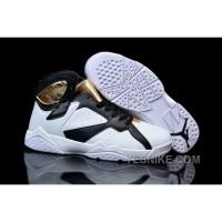 Big Discount! 66% OFF! Air Jordan 7 Championship Pack White Metallic Gold Black