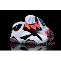 Big Discount! 66% OFF! Air Jordan 7 GS Hot Lava White Black Hot Lava 442960-106 For Sale
