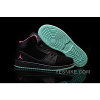 Big Discount! 66% OFF! Women Nike Air Jordan 1 Flight 2 Black Obsidian Pink