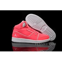 Big Discount! 66% OFF! Women Nike Air Jordan 1 Flight 2 Shoes Red And Grey