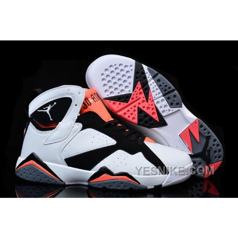 Big Discount 66 OFF Womens Nike Air Jordan 7 GS Hot Lava WhiteBlackHot Lava For Sale Girls