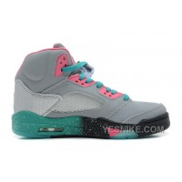 Big Discount! 66% OFF! 136027-036 Air Jordan 5 Miami Vice Custom Women
