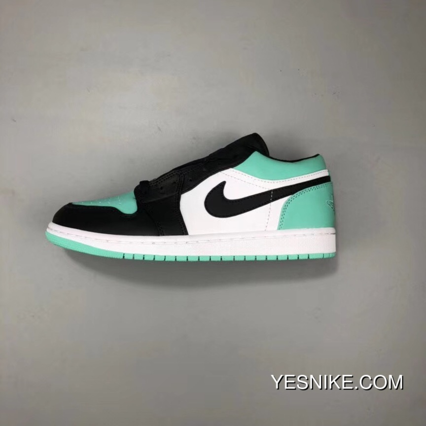 huge selection of d4b16 6be31 Air Jordan 1 LOW AJ1 A LOW Royal Carbon Mint Green Free Shipping
