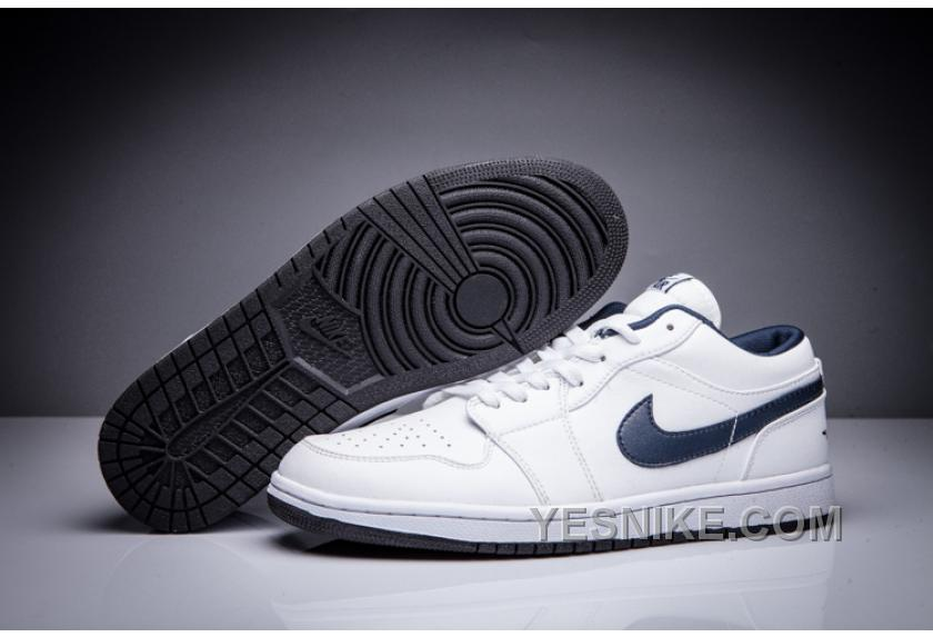eace6a7fc21 Big Discount! 66% OFF! Air Jordan 1 Retro Low OG White/Midnight Navy ...