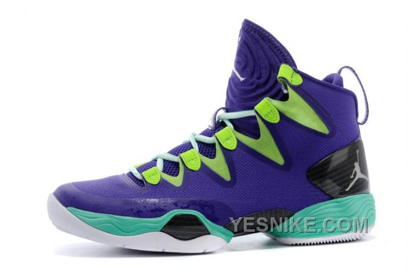 "official photos f2d9e 86976 Big Discount! 66% OFF! Air Jordans XX8 SE ""Mardi Gras"" Russell Westbrook PE  Court Purple/Black-Flash Lime ZKHFR"