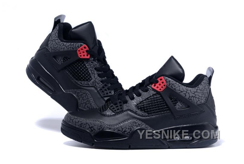 "sneakers for cheap 5ae3e 81a47 Air Jordans 4 3LAB4 ""Black Infrared 23"