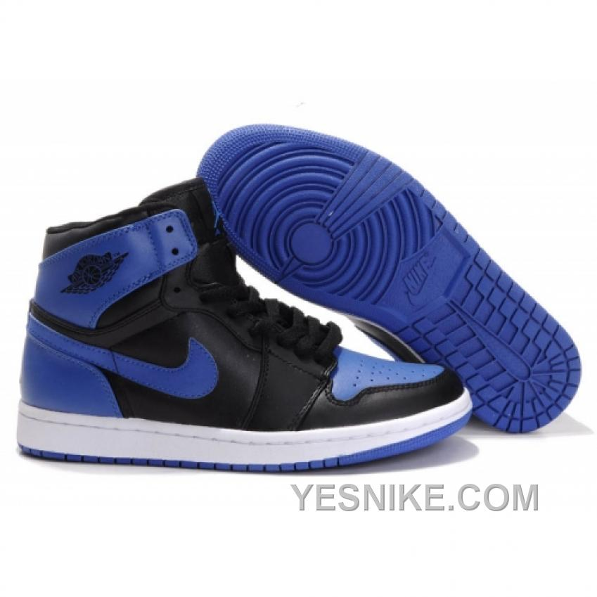 57fa872fa35258 Big Discount! 66% OFF! Air Jordan Retro 1 High Royal Blue White Black