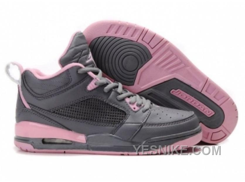 grossiste b6c57 6501a Big Discount! 66% OFF! Air Jordan 3+4 Pour Femme Gris/Rose McPHW
