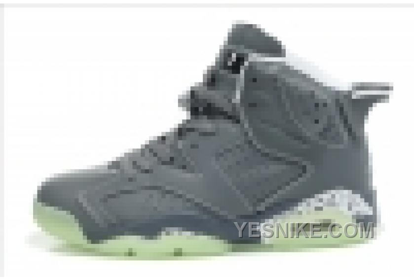 plus récent 7a362 0210e Big Discount! 66% OFF! Basket Air Jordan 6 Pour Femme Gris BQfrH