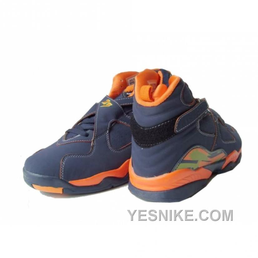 cf35ee041cdd15 Big Discount! 66% OFF! Air Jordan Retro 8 Ls Midnight Navy Pea Pod ...