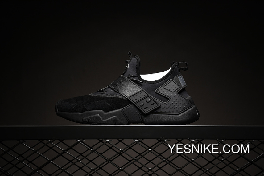 dc9bd45814c1 Nike Huarache 6 Generation 6 Generation Air Drift PRM All Black Pig Leather  AH7335-001