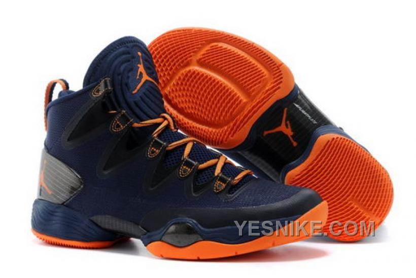 the latest 2f2c5 65a3b ... Se Mens Shoes Dark Blue Orange Cfdzr Big Discount! 66% OFF! Where Can I  Buy Nike Air Jordan Xx8 28