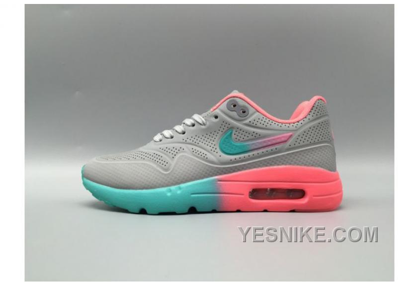 Big Discount ! 66% OFF! Nike Air Max 1 Olympic Perforated