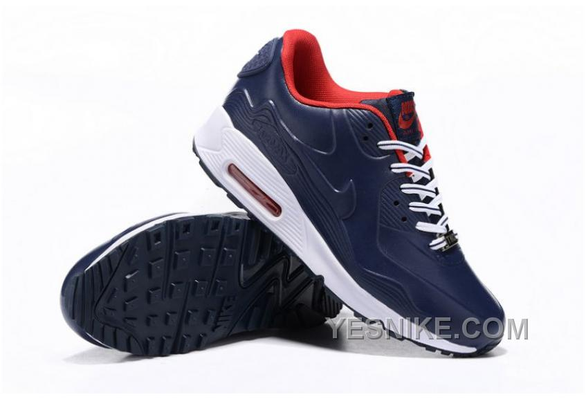 Big Discount! 66% OFF! Nike W Air Max 90 Leather Iron Metallic Red Bronze