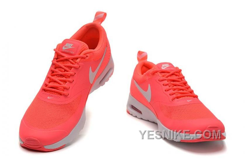 Big Discount! 66% OFF! Nike Air Max Thea All White Sneakers Madame