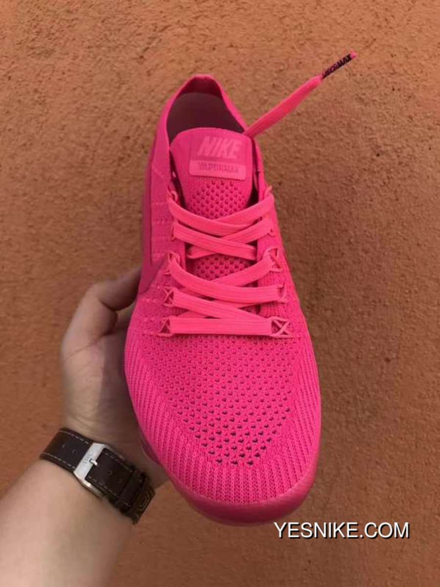 innovative design 904fa 17e96 Nike WMNS AIR VAPORMAX FLYKNIT The HYPER PUNCH SKU 849557 604 Red Roses New  Year Deals