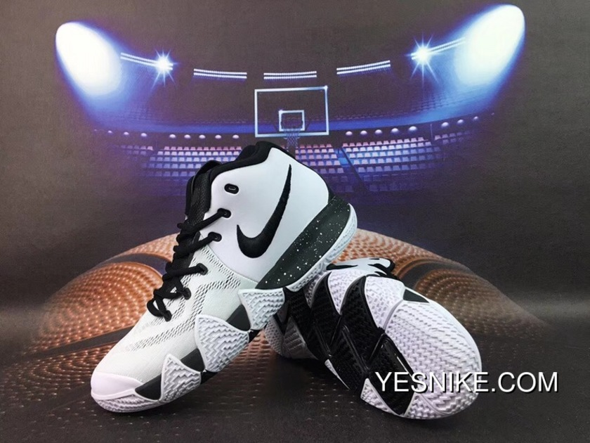 f68ed8c2e39 Nike Kyrie 4 Owen 4 White And Black New Year Deals