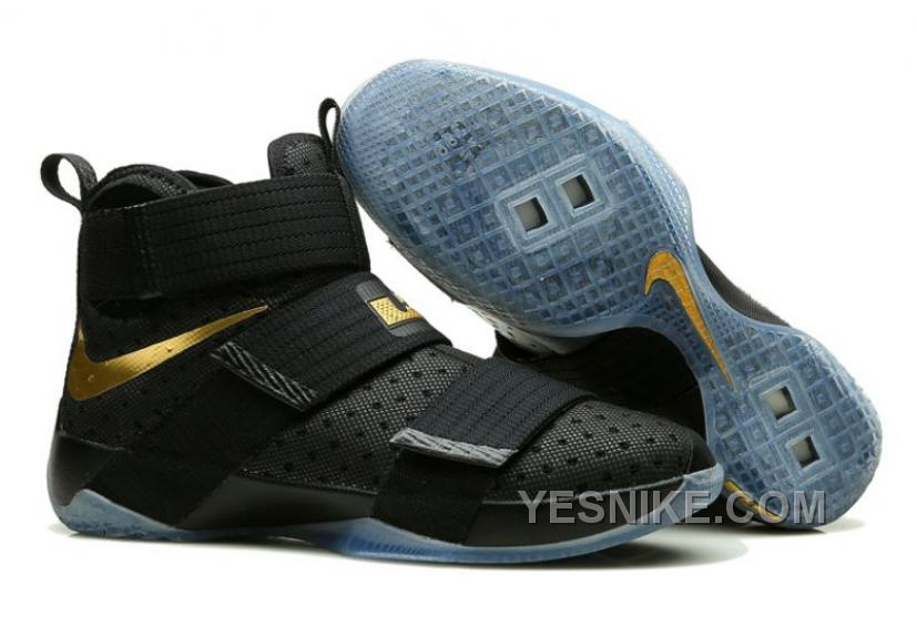 quality design 935a1 aac26 Available Now Nike LeBron Soldier 10 USA Gold