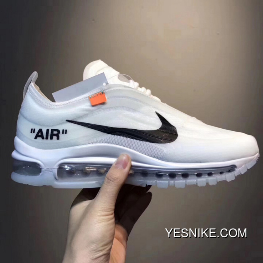 brand new 8a8f3 f80e3 Nike OFF-WHITE Air Max 97 The Ten Bullet Super Limited Joint Publishing For  Sale