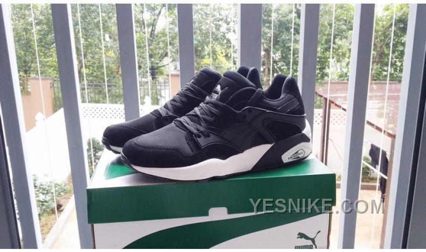 puma trinomic womens black