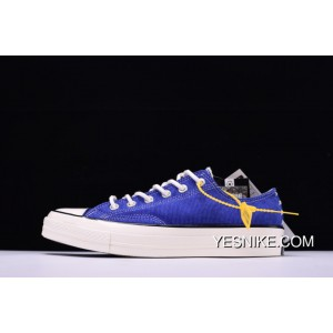 Level Hyx61808 Simplified NBHD Converse Chuck Taylor All Star 70 OX French Workwear Low Canvas Vulcanized Sneakers Corduroy Patch Blue 158605 C Outlet