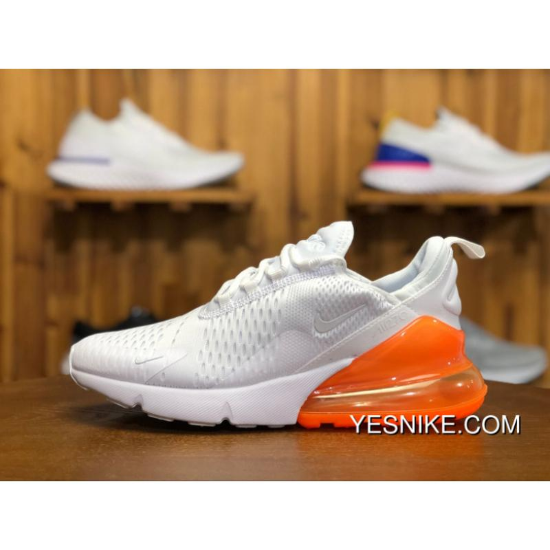 fd39d1358d5c 180 Nike AIR MAX 270 Couple Sport Shoes AH8050-102 White Sneaker Size New  Style ...