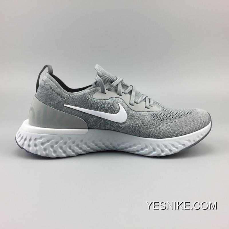 a544571bf652 Nike AQ0067-002 Epic React Flyknit New Technology Super Running Shoes  Picking 20 Epic React ...