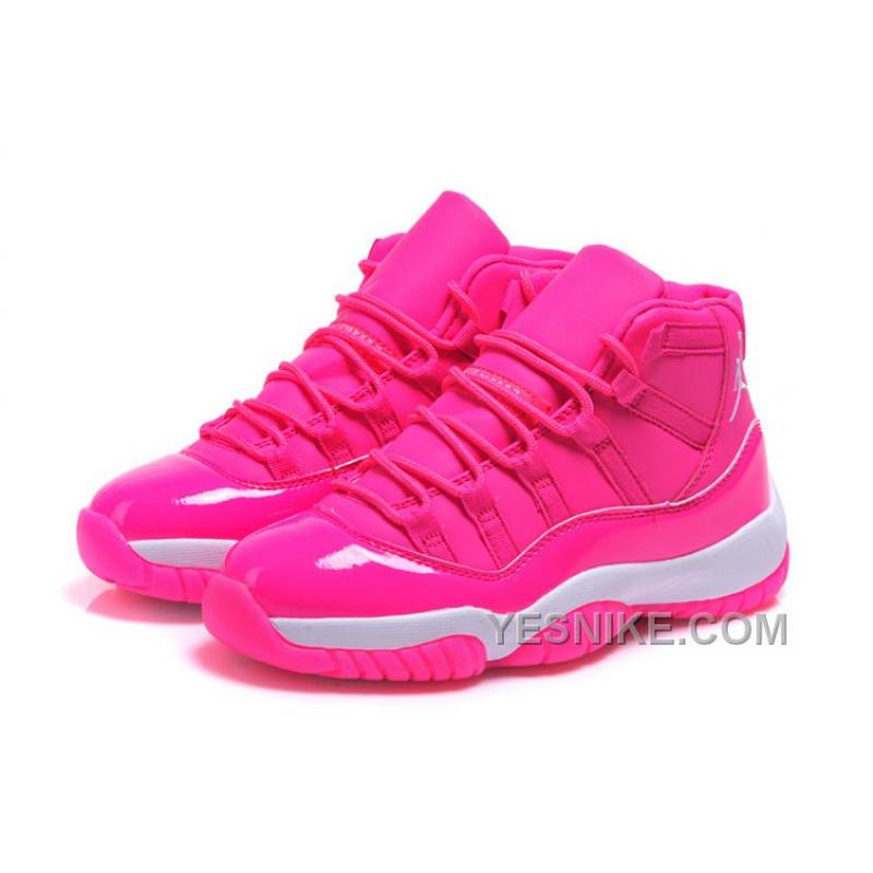 on sale 352c8 8ac4e ... reduced womens air jordan 11 girls all pink on sale 749ea 87a2d